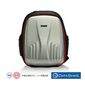 【Datashell】宰相硬殼後背包(銀色)/後背包/15吋/硬殼/銀色