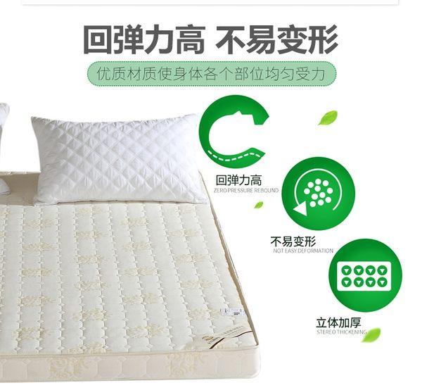 記憶棉床墊1.2米1.5m1.8m床雙人學生可折疊榻榻米床褥子海綿墊被ATF 錢夫人小舖