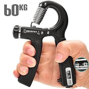 計次型60KG握力器(阻力5~60公斤調節)計數可調式握力器.手臂力器臂熱健臂器.運動HAND GRIP
