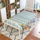 摺疊床 加固摺疊床家用單人床雙人床午睡辦公室午休床木板床出租房簡易床T 2色