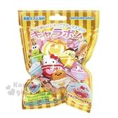 〔小禮堂〕Sanrio大集合 造型入浴球《6款隨機.黃.咖啡杯》入浴劑.泡澡球 4901610-63832