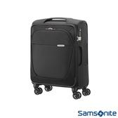 Samsonite新秀麗 20吋B-Lite商務型超大容量飛機輪布面TSA海關鎖登機箱(黑)