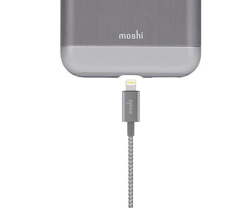 Moshi Integra 強韌系列 Lightning to USB-A 耐用編織 充電傳輸線 1.2M