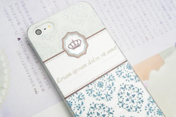 MQueen膜法女王 APPLE iphone5 ise i5s 韓風系列 浮雕 花框 花邊 蕾絲 皇冠 手機殼 背蓋