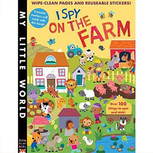 My Little World:I Spy On The Farm 觀察農場 平裝活動書