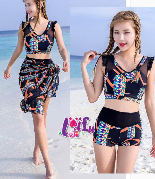 來福泳衣,G174泳衣美玲瓏三件式泳衣游泳衣泳裝比基尼加大泳衣正品,售價1100元