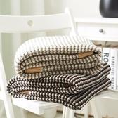 針織毯 午休蓋毯 沙發毯 毛線毯休閒手工裝飾毯子【聚寶屋】
