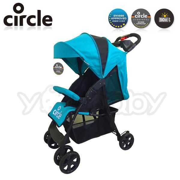 Circle Shopper 多功能推車-珊瑚藍