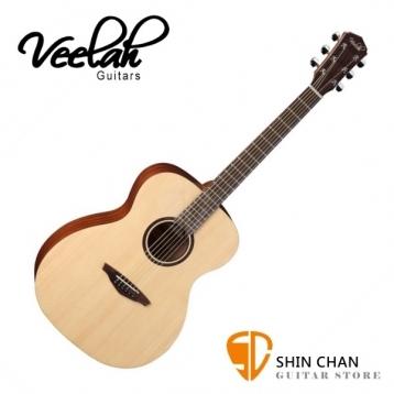 Veelah吉他 V1-OM桶身/面單板-附贈Veelah木吉他袋/V1專用(全配件)/台灣公司貨