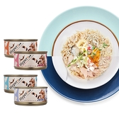 【Hyperr 超躍】貓咪肉絲主食罐 綜合 70g 24件組 (貓罐頭 雞肉 鮪魚)