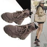馬丁靴 新款真皮馬丁靴女英倫風瘦瘦百搭短筒網紅短靴子冬季女鞋 都市時尚