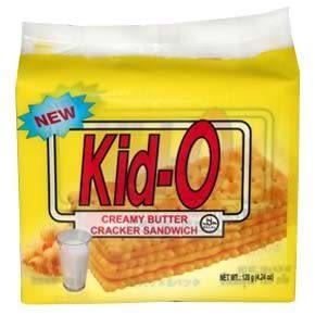 Kid-O日清奶油三明治120g【合迷雅好物超級商城】