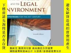 二手書博民逛書店Managers罕見And The Legal Environment: Strategies For The 2