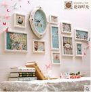 客廳臥室沙發照片牆歐式實木相框牆兒童溫馨...