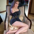 情趣睡衣 性感睡衣 selebritee 銀黑閃亮亮 極性感緊身透視酥胸超短裙『迎接2021』