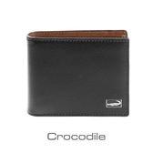Crocodile Titanium系列短夾-上翻子夾款-0103-07803-01