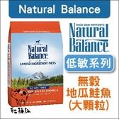 Natural Balance〔NB無穀地瓜鮭魚全犬配方,26磅〕
