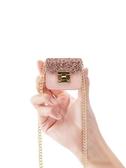 小斜挎包ins少女零錢包袋女迷你新款韓國版簡約個性小方包硬幣包
