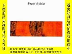 二手書博民逛書店L espace罕見Du Dedans : Pages Choisies, 1927-1959Y255562