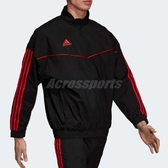 adidas 立領外套 Tango Icon Jacket 黑 紅 三條線 男款 運動夾克 【PUMP306】 CW7455