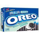 奧利奧OREO巧克力三明治餅乾-輕甜夾心411g【愛買】