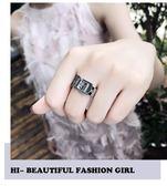 冷淡風食指2018最火的戒指女夸張chic日韓網紅潮人學生時尚個性潮