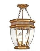 設計師美術精品館歐式全銅燈餐廳燈半吊吸頂燈臥室門庭過道吸頂吊燈