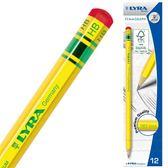 百年經典黃桿鉛筆HB(12入)【德國LYRA】