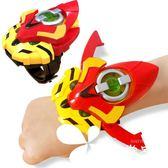 豬豬俠之超星萌寵心五靈全套超星鎖鐵拳虎阿五變形玩具變身器手表