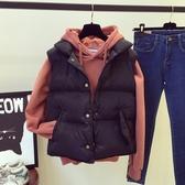 羽絨馬甲新款女秋冬款韓版棉短款寬松外套