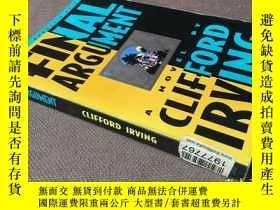 二手書博民逛書店Final罕見Argument   最終辯詞 (英語)Y2783