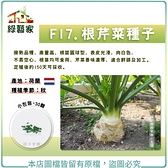 【綠藝家】F17.根芹菜種子30顆
