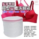 金德恩 台灣製 胸罩專用 柱型抗菌洗衣袋(2件組)