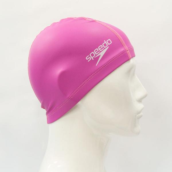 ≡Speedo≡ 成人合成泳帽 Pace 粉紅 - SD8720641341