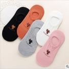►淺口隱形襪春夏薄女士卡通小兔襪子矽膠防滑棉襪船襪豆豆襪【B7032】