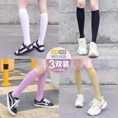 天鵝絨小腿襪子女夏天長筒ins潮夏季超薄款jk中筒瘦腿半截長襪女