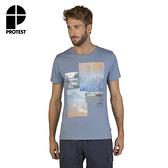 PROTEST 男 短袖T恤 (汽油藍) EXTINCE T-SHIRT