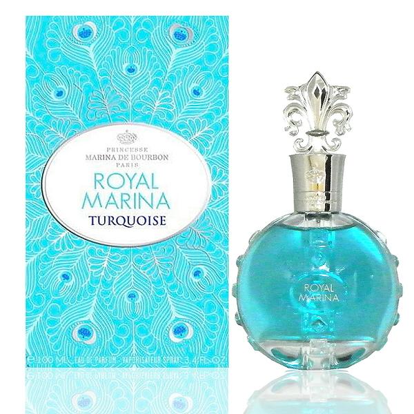 Marina de bourbon Royal Marina Turquoise 心有 翎犀女性淡香精100ml