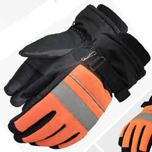 反光條防風透氣手套.男女保暖防寒耐磨防滑防水手套.滑雪手套.防曬防晒運動保護手套熱銷便宜