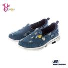 Skechers懶人鞋 女鞋 GOWALK 5 走路鞋 健走鞋 運動鞋 免綁鞋帶 足弓鞋墊 V8255#藍色◆OSOME奧森鞋業