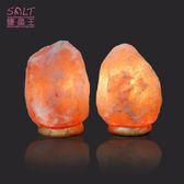 鹽燈專家-☆鹽晶王☆正宗巴基斯坦玫瑰鹽燈2~4kg《紋石底座》《兩入組》,開運必備。