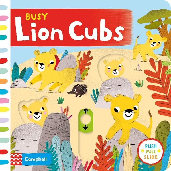Busy Lion Cubs 忙碌的小獅子操作書