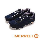 MERRELL MOAB FST GTX 防水戶外多功能鞋登山健行男鞋-藍