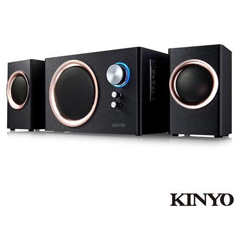 KINYO 2.1藍牙多媒體音箱KY-1851【愛買】