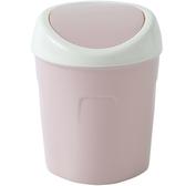 5個桌面垃圾桶家用客廳塑料小號有蓋垃圾筒