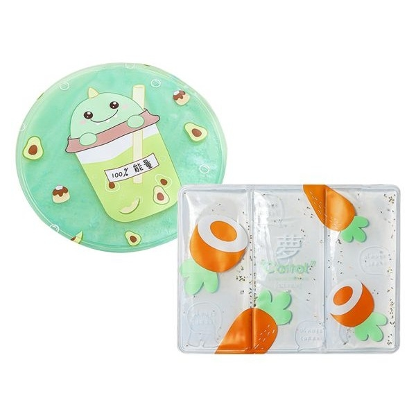 夏季卡通水果降溫PVC冰涼墊(1入) 款式可選 圖案隨機出貨【小三美日】