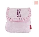 【ELLE】可愛花邊系列-輕便側背包/斜背包 粉色_P6148010