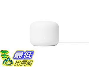 [8美國直購] Google Nest Wifi Router - 4x4 AC2200 Wi-Fi Mesh System with 2200 Sq ft Coverage GA00595-US