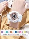 楊紫同款手錶女ins風獨角獸電子表初中學生簡約氣質運動防水夜光