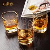 6只套裝加厚無鉛玻璃八角四方杯威士忌洋酒啤酒杯家用酒吧 叮噹百貨
